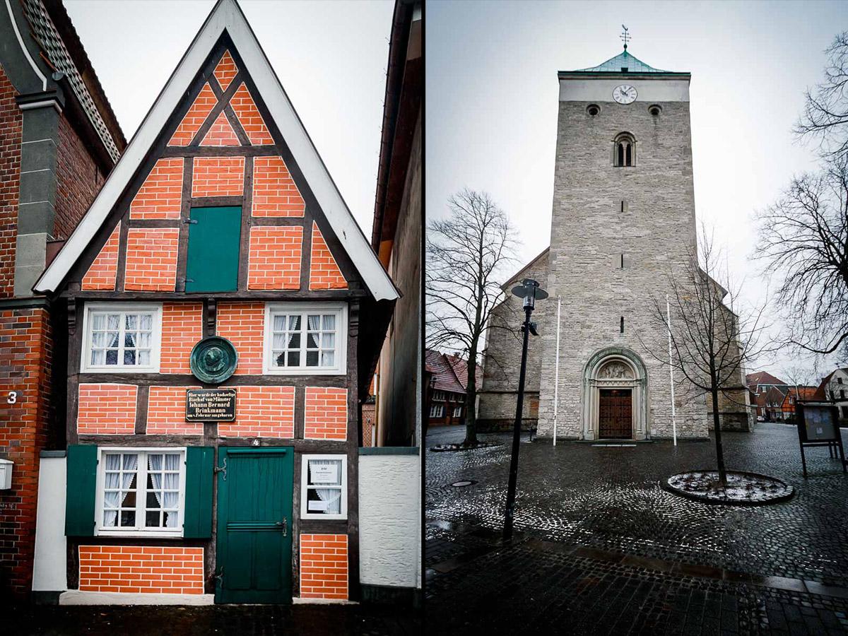 Casa de Bernhard e Iglesia de St Magnus