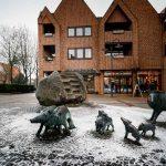 Monumento de jabalíes en Everswinkel